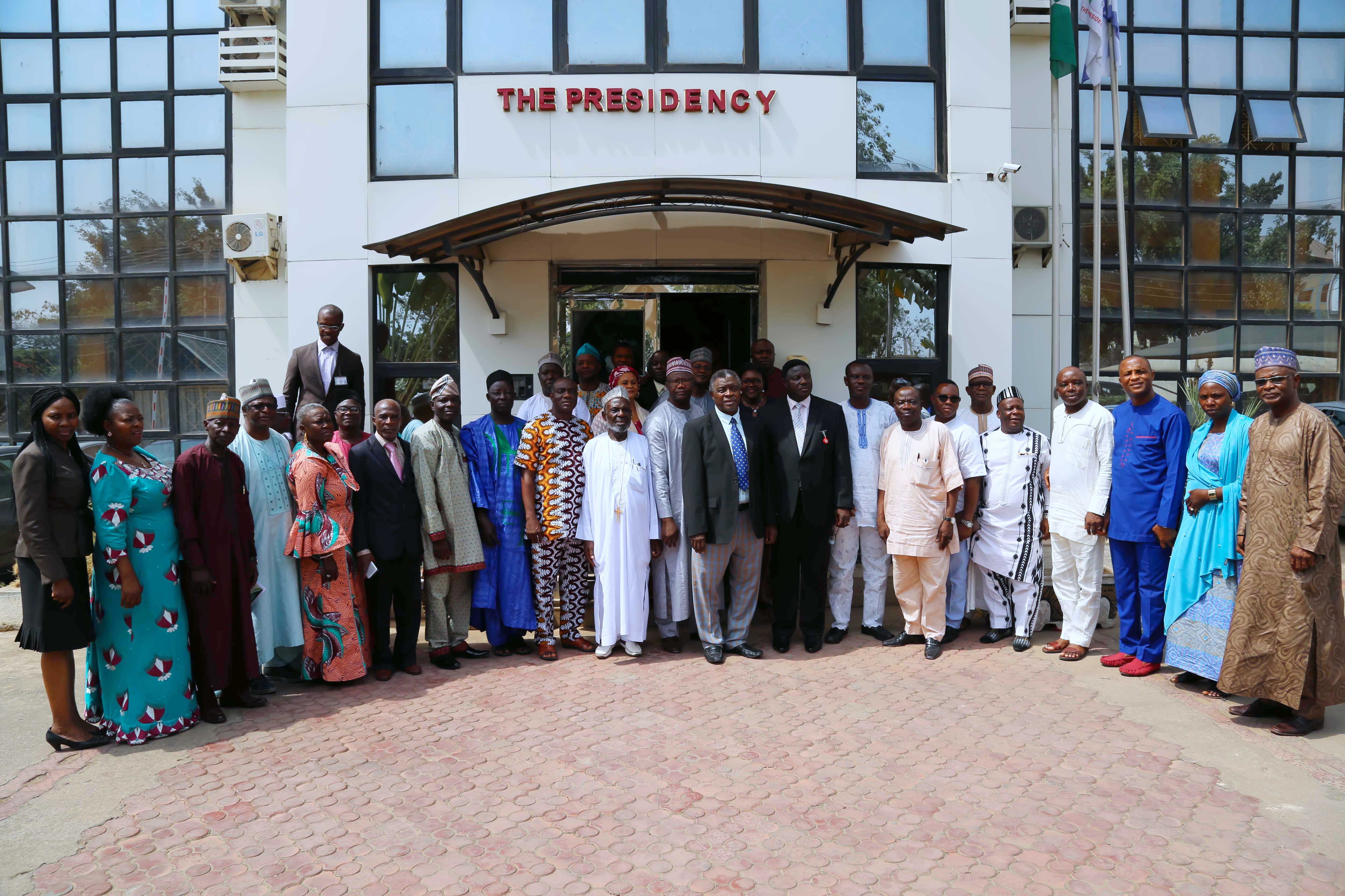 NCPC STRATEGIC REVIEW MEETING OF PILGRIMAGE LEADERS AND MANAGERS OF THE 36 STATES
